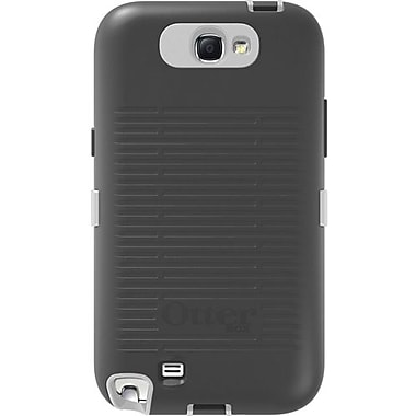 OtterBox® Defender Series Hybrid Case & Holster For Samsung Galaxy Note II, Glacier