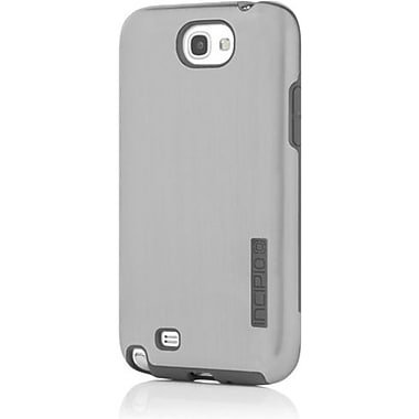 Incipio® DualPro Shine Hybrid Case For Samsung Galaxy Note II, Silver/Gray