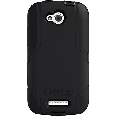 OtterBox® Defender Series Hybrid Case & Holster For HTC One VX, Black