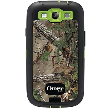 OtterBox® Defender Realtree Series Hybrid Case & Holster For Samsung Galaxy S III, Xtra Green/Green