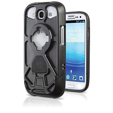 Rokform® Rokbed V.3 Hard Case For Samsung Galaxy S III, Pitch Black