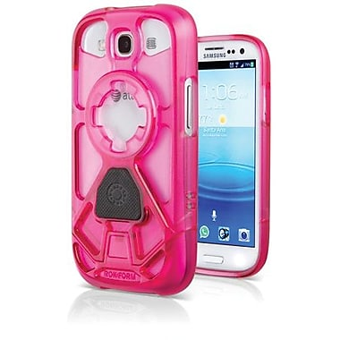 Rokform® Rokbed V.3 Hard Case For Samsung Galaxy S III, Shock Pink