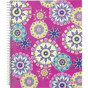 Staples® Fashion Accel Durable Poly Cover Notebook, Kaleidoscope, 8 x 10.5