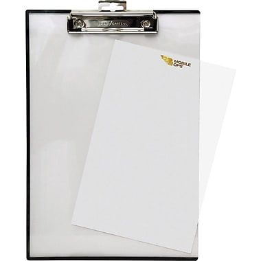Mobile Ops™ Quick Reference Clipboard, Letter Size, Clear