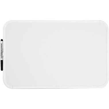 Sparco™ Dry-Erase Board, Plastic Frame, 11
