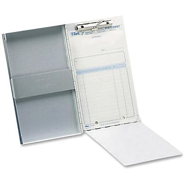 Saunders Storage Clipboard, Aluminum, 5-2/3