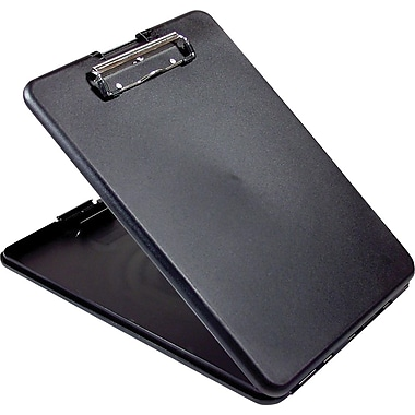 Saunders SlimMate Storage Clipboard, Black