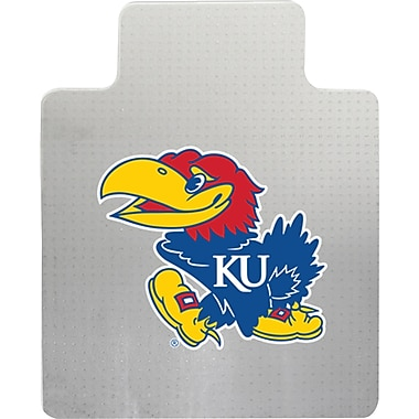 Great American Products NCAA Chair Mat, Kansas Jayhawks