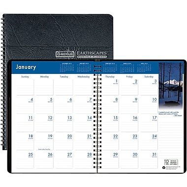 2014 House of Doolittle® Earthscapes™ Monthly Planner, 8 1/2in. x 11in.