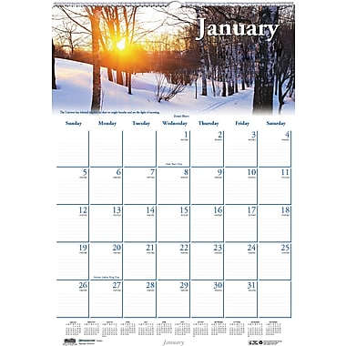 2014 House of Doolittle® Earthscapes™ Scenic Wall Calendar, 12in. x 16 1/2in.