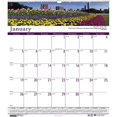 2014 House of Doolittle® Earthscapes™ Gardens Wall Calendar, 12in. x 12in.
