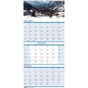 2014 House of Doolittle® Earthscapes™ Scenic 3 Month Wall Calendar, 12 1/4 x 26