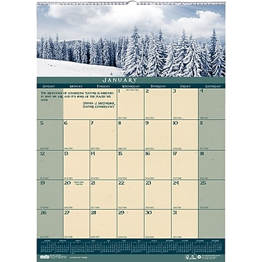 2014 House of Doolittle® Landscapes™  Wall Calendar, 12in. x 16 1/2in.