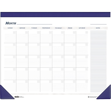 House of Doolittle® Non-Dated Desk Pad Calendar, 22in. x 17in.