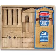 Melissa & Doug Architectural Standard Unit Blocks