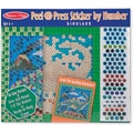 Melissa & Doug Peel & Press Sticker by Number - Dinosaur
