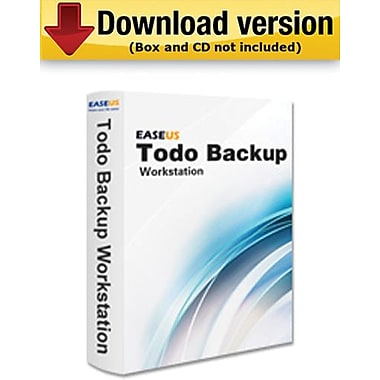 EaseUS Todo Backup Workstation for Windows (1 User) [Download]