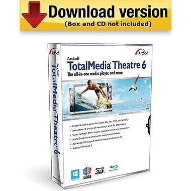 ArcSoft TotalMedia Theatre 6 for Windows (1-User) [Download]