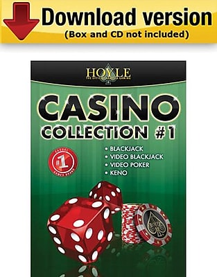 Encore Hoyle Casino Collection 1 for Windows 1 User [Download]