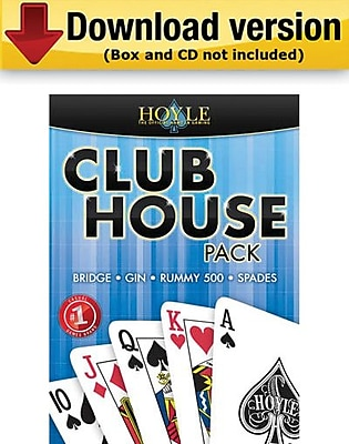Encore Hoyle Club House Pack for Windows 1 User [Download]
