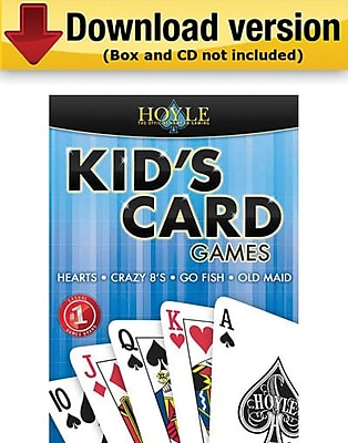Encore Hoyle Kid s Card Games for Windows 1 User [Download]