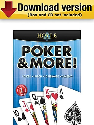 Encore Hoyle Poker More for Windows 1 User [Download]
