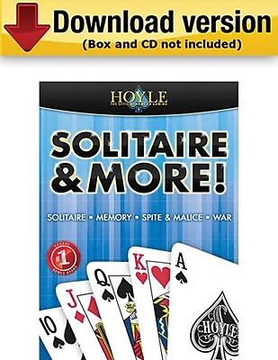 Encore Hoyle Solitaire More for Windows 1 User [Download]