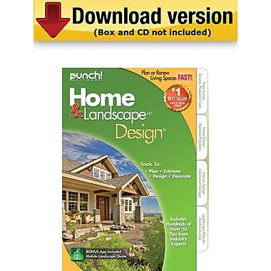 Encore Punch! Home & Landscape Design v17 for Windows (1-User) [Download]