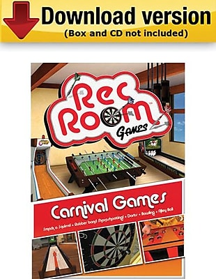 Encore Rec Room Volume 3 Carnival Games for Windows 1 User [Download]