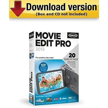 Magix Movie Edit Pro 2013 for Windows (1-User) [Download]