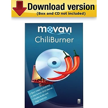Movavi ChiliBurner 3.3 Business Edition for Windows (1 User) [Download]