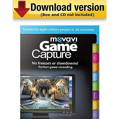 Movavi Game Capture 4 Personal Edition for Windows (1 User) [Download]