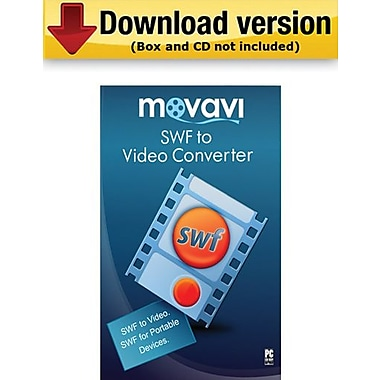 Movavi SWF to Video Converter 2.0 Business Edition for Windows (1 User) [Download]