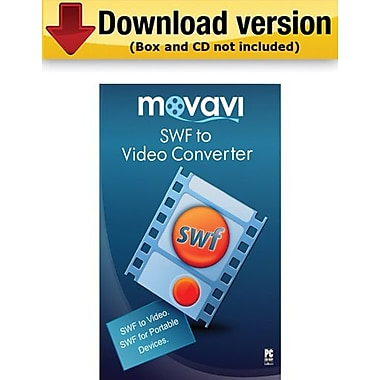 Movavi SWF to Video Converter 2.0 Personal Edition for Windows (1 User) [Download]