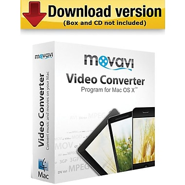 Movavi Video Converter 3 Business Edition for Mac (1 User) [Download]