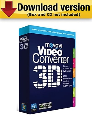 Movavi Video Converter 3D 2.0 Personal Edition for Windows (1 User) [Download] 188187