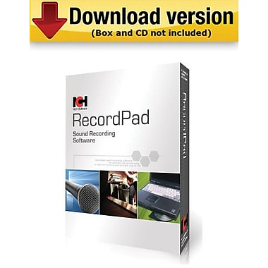 NCH Software RecordPad for Windows (1-User) [Download]
