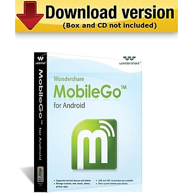 Wondershare Mobilego for Android for Windows (1-User) [Download]