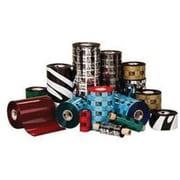 """Zebra Technologies® 02000BK10645 2000 Black Standard Wax Ribbon, 1476'(L) x 4.16""""(W)"""