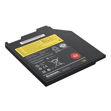 Lenovo® 0A36310 ThinkPad 43 Ultrabay 32 Wh Li-ion Battery For Notebook