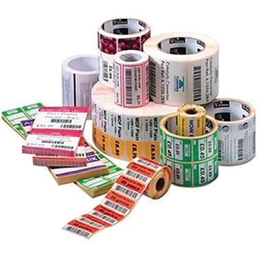 Zebra Technologies® 10009523 Z-Select 4T Paper Label, 1in.(L) x 1.25in.(W)