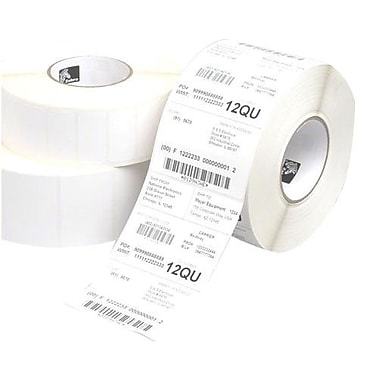 Zebra Technologies® 10011702 Z-Ultimate 3000T Thermal Label, 1in.(L) x 3in.(W)