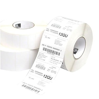 Zebra Technologies® 10015345 Z-Select 4D Paper Label, 4in.(L) x 4in.(W)