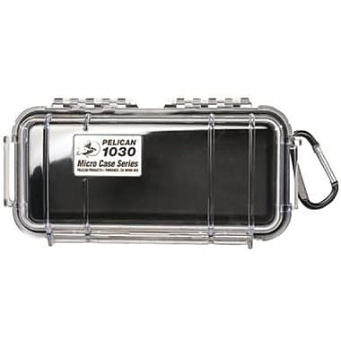 Pelican™ 1030 Micro Case For Small Accessories, Clear/Black