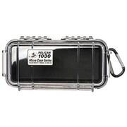 Pelican™ 1030 Micro Case For Small Accessories, Clear/Blue