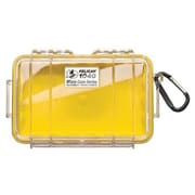 Pelican™ 1040 Micro Case For Cell Phone, PDA, iPod, Pager, Clear/Yellow