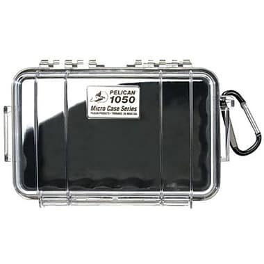 Pelican™ 1050 Micro Case For Cell Phone, PDA, iPod, Pager, Clear/Black