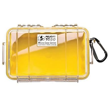 Pelican™ 1020 Micro Case For Small Accessories, Clear/Yellow