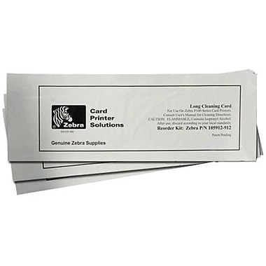 Zebra Technologies® 105999-400 Cleaning Card Kit For P100I