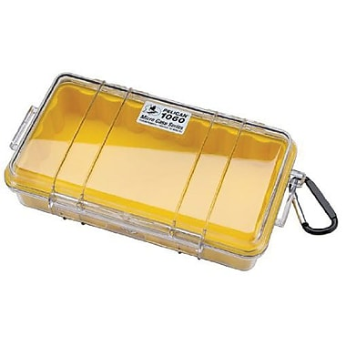 Pelican™ 1060 Micro Case For Small Accessories, Clear/Yellow